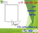 """1.77 """" 128*160 Spi het 12pin LCD Scherm, hoge Helderheid TFT LCD"""