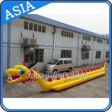 Kundenspezifisches aufblasbares Wasser-Spiel-Drache-Boot, fliegendes Bananen-Boot Towables für 10 Leute