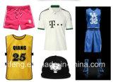 Impression de numéro de sports de collants de transfert thermique pour des vêtements de sport