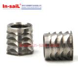Noix de garniture intérieure filetée d'acier inoxydable en Chine