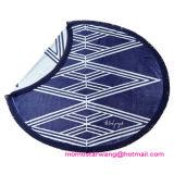 Afgedrukt om de Handdoek van het Strand van de Cirkel met Uitstekende kwaliteit