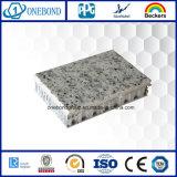 Panneau de marbre de nid d'abeilles de pierre de garniture pour la décoration de mur