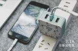 3c mobiele Telefoon 3 de Dubbele Lader van de Muur van de Reis van de Adapter USB de Mobiele Toebehoren van de Telefoon