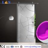 زجاجيّة باب تركيب [سليد دوور] جهاز غرفة حمّام شريكات ([لس-سدغ-6603])