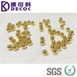 Cobre / cojinete de oro / estaño / zinc recubierto de bola de acero de acero enchapado en bolas