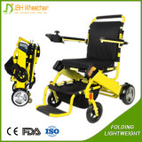 Alumnium Foldable 가벼운 전기 자동 휠체어