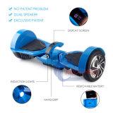 Nieuw Ontwerp 2 Wielen Hoverboard met de Vertoning en het Handvat van de Temperatuur Bluetooth