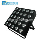 25 * 10W RGBW 4in1 / 25 * 15W LED 5en1 RGBWA Eastsun Matrix Blinder / LED de luz de la etapa
