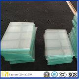 Nuevo diseño de 6 mm de borde biselado Ultra Clear Glass utilizado en marco de fotos