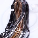 Il modo ha torto l'insieme dei monili della collana del Choker del collare della lega del metallo