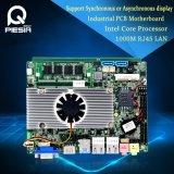 Independiente se dobla la placa madre de la visualización con el procesador del átomo D525 de Intel