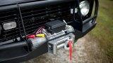 argano elettrico della gru della fune metallica 2000lbs per l'automobile della jeep