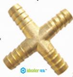 Ajustage de précision pneumatique en laiton avec Ce/SGS (HHZA)