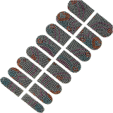 Collant brillant de clou de collants d'art de clou de transfert de l'eau de configuration de points