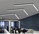 luz linear suspendida 40W del LED para el hotel de la oficina