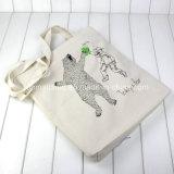 O saco de venda o mais quente da lona de /Shopping do saco do algodão do estilo do punho do baixo preço