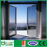 Portello di vetro di alluminio della stoffa per tendine di alta qualità con il portello di As2047/Aluminium