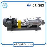 En acier inoxydable 304 à plusieurs stades du moteur électrique de la pompe de liquide huile centrifuge