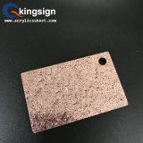 Corte láser de lámina de acrílico con Glitter