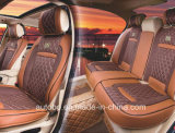 Figura del coperchio di sede dell'automobile 3D con Brown Leatherette-Rosso di quattro stagioni