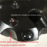 花こう岩の穴あけ工具の糸ボタンビットR32 (35)、R38、T51