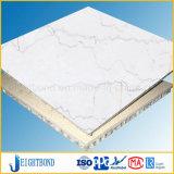 Panneaux de marbre normaux de nid d'abeilles d'OEM pour la décoration de revêtement de mur