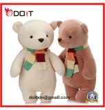 Urso branco da peluche do urso novo macio da peluche do urso