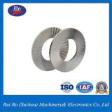 Dacromet DIN25201 la rondelle de blocage des rondelles en acier inoxydable