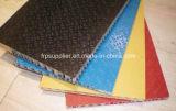 Panneau composé d'anti nid d'abeilles de la glissade FRP pour l'échafaudage
