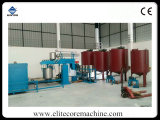 Espuma do grupo produzindo a maquinaria para a esponja da espuma