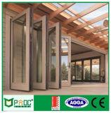 Pnoc022304LS estándar australiano puerta plegable de aluminio buen precio.