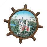 Magneten van de Koelkast van het Landschap van de Hars van Rusland van de goede Kwaliteit 3D