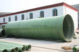 Pipe de sable de FRP ou de GRP pour l'eau ou des industries chimiques
