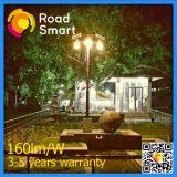 Lâmpada de rua solar ajustável da estrada do jardim do diodo emissor de luz 8W do painel solar