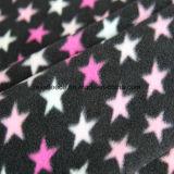 Micro panno morbido con il disegno della stella della stampa
