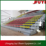Fabrication Ce Indoor Common Occasion Télescopique Bleacher / Retractable Bleacher Seating Jy-706 Tribune Bleachers à vendre Chaises rétractables