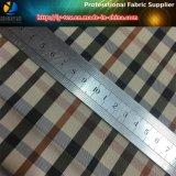 Tela teñida de la verificación de los hilados de polyester, tela de la guarnición de la chaqueta (YD1053)