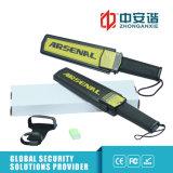 Super Long Anti-Sliding Diatance détecteur de métal avec carte de voyants d'alarme