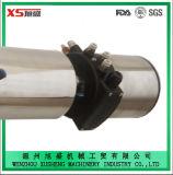 Dn50 de Sanitaire Pneumatische Klep Mixproof van het Roestvrij staal met Lichaam het Uit één stuk van de Klep