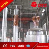 o Ce do equipamento da destilação do rum do conhaque do uísque do revestimento do vapor 500L aprovou