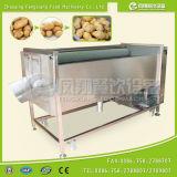 Mstp-80セリウムによって承認されるブラシのタイプルート野菜の洗浄の皮機械(300-500kg/h)
