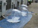 Tenda gonfiabile trasparente della bolla, tenda dell'iglù con il prezzo poco costoso