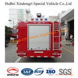de Vrachtwagen Euro2 van de Brand van de Tank van het Water 3.6ton Dongfeng