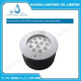 Impermeabilizzare 316 l'indicatore luminoso subacqueo messo RGB bianco dell'acciaio inossidabile LED