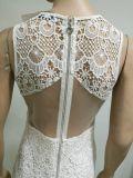 Ночи 2017 платье партии оптовой шикарной белой повелительниц женщин платья шнурка сексуальное