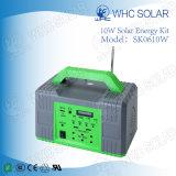 Portátil 10W de energía solar fotovoltaica Inicio Sistema de Kit de energía