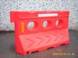 Barraggio acquatico di plastica caldo di sicurezza stradale del fornitore di colore giallo LLDPE Cina