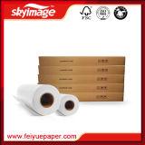 Valeur de l'argent 88GSM 17 '' * 100m Non-Curl Fast Dry Sublimation Papier de transfert pour toute imprimante jet d'encre