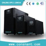 UPS en ligne à haute fréquence monophasé avec l'écran LCD