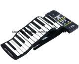 피아노 (GPN-88S)가 88의 키 USB 유연한 실리콘에 의하여 위로 구른다